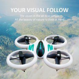 rc nano quadcopter mini drone Desconto Mini Drone para crianças e iniciantes Q8 LED Drone RC Nano bolso Quadrotor Auto pairando 3D Inverte Gesto Operação / One Key Retorno