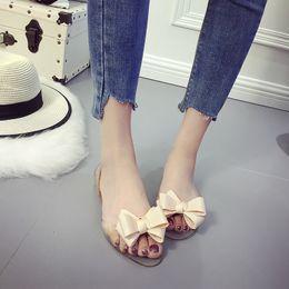 Schuhe Frauen Sandalen Frauen Gelee Schuhe Dame Garten Schuhe Strand Sandalen Hausschuhe Sommer Stil Komfortable Bling Silber Schwarz Gelee Schuhe Plus Größe 9
