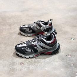 Argentina Moda Paris Triple S 3.0 Zapatos casuales Zapatillas de plataforma Tess S. Gomma Trek malla y nylon Hombres Zapatillas de deporte de atletismo Diseñador zapatos al aire libre Suministro