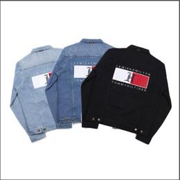 estilo do exército da forma dos miúdos Desconto Denim jaqueta jaqueta de grife de moda dos homens marca magro homens e mulheres causais casacos de denim hip hop do estilo do vintage jaqueta jeans denim010