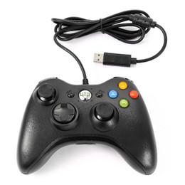 2019 computer joystick spiel-controller Videospielkonsolen Wired USB Controller Gamepad Joystick Joypad für PC Computer Laptop Spiel Blacknew günstig computer joystick spiel-controller