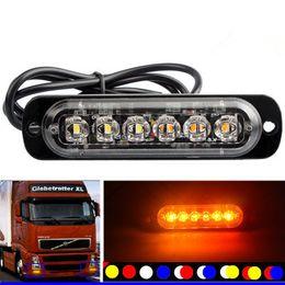 18/LED luci stroboscopiche con ventose di sicurezza auto camion luce lampeggiante luce di segnalazione Amber