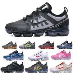 Compre Nike Run Utility Vapomax VM Air Max Zapatillas De Deporte De Hombre Color Negro De Burgundy Crush 2019 Run UTILITY REFLECTIVE Mens Trainers