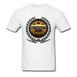 2019 couple famille t shirts Maman certifiée depuis 2018 T-shirt Drôle T-shirts Derniers Hommes Tops Femme T-shirts Coton Blanc Vêtements Famille Tee Couple Correspondant couple famille t shirts pas cher