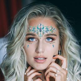 Ucuz Geçici Dövmeler 1 Sayfalık Jewels Rhinestones Yapıştırıcı Kristal Yüz Taşlar Güzellik Vücut Glitter Dövme Sanatı Kaş Yüz Vücut takı nereden çocuk kitapları tedarikçiler