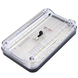Luz tronco universal on-line-Universal Branco 12 V 36 LED Auto Car Interior Do Veículo Dome Telhado Telhado de Leitura Tronco Lâmpada de Luz Interior de Alta Luz