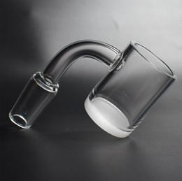 Banger de quartz opaque inférieure 4mm épaisse 10mm 14mm 18mm 45/90 degré clous de banderoles de quartz de dessus plat pour l'eau en verre ? partir de fabricateur
