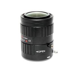 auto lente íris câmera Desconto Manual de IP Camera Lens 3MP C-Mount lente 4-18mm distância focal variável DC Auto Iris HD CCTV Lens 1 / 1.8