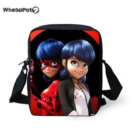 c942c687d782 WHOSEPET Miraculous Ladybug School bags Children Mini Backpack for Kids  Boys Girls Cartoon Schoolbag Mini Shoulder Book Bags New Y18120601
