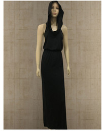 vestido de carnaval vintage Desconto Designer Lady Halloween Vampire Dresses com Big Hat Sexy Leaky Back Slit Vestido sem mangas Medieval Vestido de alta qualidade 2019