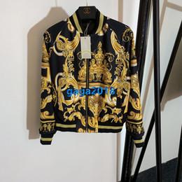 Canada haut de gamme femmes filles veste courte bombardier or hibiscus patchwork imprimer zip manteau à manches longues cardigan milan design de mode survêtement en tête Offre
