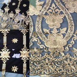 2019 vestidos estilo francês Laço preto Tecidos Árabe Estilo Africano Tecido de Renda Francesa Para Vestidos de Casamento Evening Prom Dress Alta Qualidade 426-15 vestidos estilo francês barato
