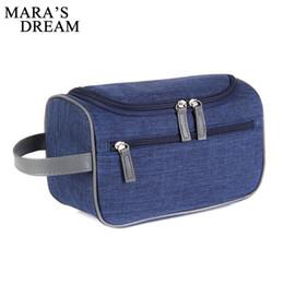 couleur du boîtier étanche Promotion Étuis à cosmétiques unisexes de Mara de qualité portable Oxford femme imperméable sac de rangement solide couleur casual