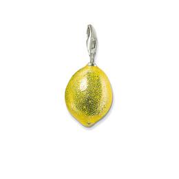 Argentina Plata Amarillo Limón Colgantes Colgantes Pulsera Fit Collar Collar, moda Charm Fit DIY joyería que hace el regalo para las mujeres hombres cheap lemon charm bracelet Suministro