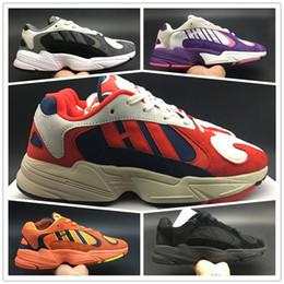 Dragão velho on-line-2018 YANG-1 OG GoKu Dragon Ball Z Homens Mulheres Tênis de corrida Velho pai Sapatos amantes Sapatos esportivos Tênis Kanye West 700 tamanho 36-45