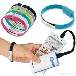 al por mayor ipad cargadores de aire Rebajas Cable de sincronización de datos del cargador de carga USB de pulsera al por mayor para el iPhone 6S 6 5 / 5S / 5C iPad Air 4/5 E222