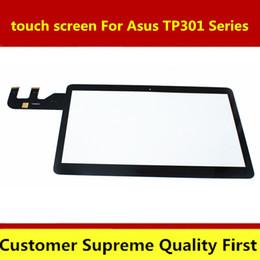 новые сенсорные ноутбуки Скидка Free shipping new 13.3'' Touch Screen Digitizer Glass Panel Replacement Laptop For Asus TP301 TP301U TP301UJ TP301UA TP301UJ-C40
