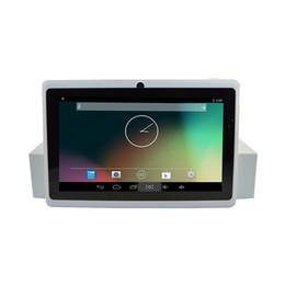 2019 tablet pc q88 Tablet PC más barata 7 pulgadas Q88 A33 Android 4.4 1024 * 600 Resolución rebajas tablet pc q88