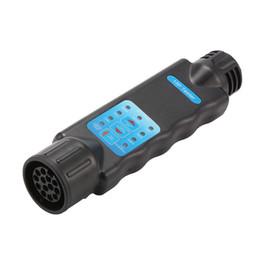 Luzes de reboque on-line-Trailer de diagnóstico Ferramenta 13 Pin caravana carro de reboque Tow Bar Luz Fiação Circuito Tester Tomada