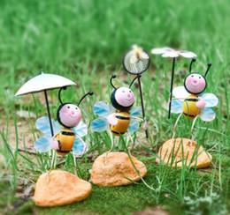 Canada Idyllique fourmi en fer forgé créatif petits ornements décorations pour la maison chambre d'enfant bureau meuble de télévision mobilier mignon cheap tv ants Offre