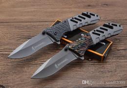 Prezzo del coltello caldo online-coltello vendita di campeggio di sopravvivenza calda Browing nuovo coltello pieghevole A339 2styles 440blade 58HRC strumenti esterni di colore dei prezzi boxwholesale EDC