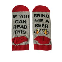 bc64a1c505c0 sock donut Coupons - 2018 Summer Funny Cotton Socks if you can read this  bring me