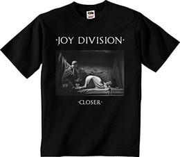 2019 alegría negro Joy Division - Closer 3 - Camiseta oficial para hombres Negro IMPORTACIÓN de talla grande Discout Camiseta nueva y divertida Camiseta 100% de algodón rebajas alegría negro