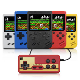 kids arcade games Promo Codes - Retro Portable Mini Handheld Game Console 1020mAh Battery 3.0 Inch Color LCD Kids Color Game Player 400 games