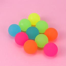 decorazioni in luna Sconti Luminous Moonlight di rimbalzo elevata Toy Balls bambini party regalo decorazione di favore I bambini Glow in the Dark Bouncing Ball L