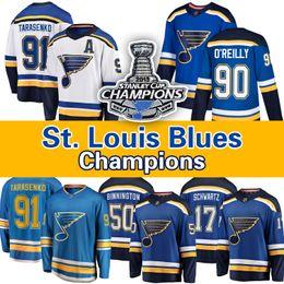 2019 billige authentische nhl hockey trikots St. Louis Blues 2019 Stanley-Cup-Finale Jersey Vladimir Tarasenko Jaden Schwartz Ryan O'Reilly Maroon Binnington Jake Allen David Perron (10
