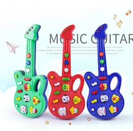 Deutschland 001 New Fashion Cartoon spielzeug gitarre Hochwertige Musik E-gitarre Kinder Musikinstrumente Lernspielzeug Für Kinder Geschenke Versorgung