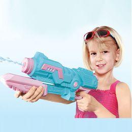 2019 grandes pistolas de agua Niños Disparos con agua de alta presión 1000 ML Pistolas de agua de gran capacidad Vacaciones de verano Niños Niños Squirt Juguete de playa Pistolas de agua Juego al aire libre rebajas grandes pistolas de agua