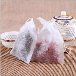 100 Adet / grup Teabags 5.5x7 CM Boş Çay Poşeti Çay Bolsas Filtre Kağıdı İpli Tek Kullanımlık Teabag Protable Dostu HHA626 nereden