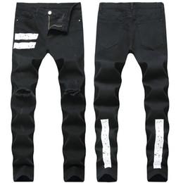 2018 Jeans da uomo in denim leggero elasticizzato leggero da uomo Pantaloni a maniche lunghe da uomo in giallo chiaro Pantaloni cargo Pantaloni da uomo da