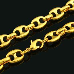 2019 oro etioco Catena nuovo oro della collana di potere di colore per i monili di modo delle donne degli uomini / Africa / India / Kenya / Articoli etiope oro etioco economici
