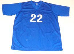 maillot bleu américain Promotion Rare Vintage EGHAN KLINGENBERG Team USA maillot de football bleu points de broderie Personnaliser toute taille et nom Jersey