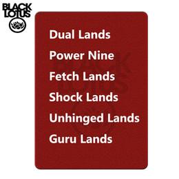 2019 jogos de tabuleiro de bebê Um de cada Beta / ilimitado / Dual Revisado Lands Beta / Poder ilimitado Nine Mágica Baralho Lion Board Game Cards