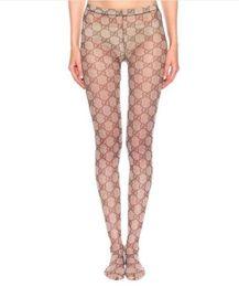2020 calze di seta nera 19ss G Lettera Collant calzini invisibili sottili calze di seta di ragazze regalo donne sexy calze nere calze di alta qualità calze di seta nera economici