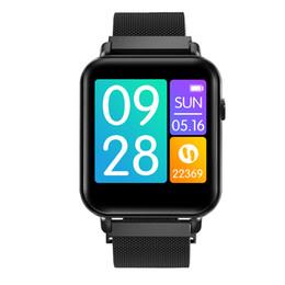 gv18 водонепроницаемые часы Скидка Y6pro Умные Часы 1,3-дюймовый TFT-Экран Сердечного ритма Крови Кислорода Сигнализация Life Водонепроницаемый Спорт SmartWatch