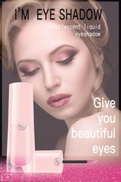rossetto brillante Sconti Trucco professionale Glitter Eyeshadow Shimmer highlighter rossetto Ombretto impermeabile a lunga durata Shimmer Eye Eye Eyelight