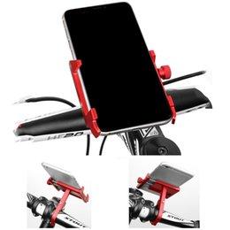 Alüminyum Alaşım Bisiklet Motosiklet MTB Telefon Tutucu Evrensel Ayarlanabilir Telefon Standı Bisiklet Gidon Braketi Raf nereden