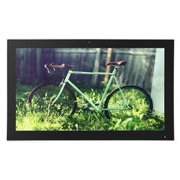 cámara vga pc Rebajas Zhixianda computadora Android 21.5 pulgadas All-In-One Touch Monitor Android con 10 puntos de pantalla táctil capacitiva HDMI USB RJ45