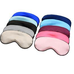 Шелковые прокладки онлайн-Silk Rest Маска для век для сна Мягкая накидка для путешествий Travel Relax Blindfolds Eye Cover Спящая маска для ухода за глазами Инструменты для красоты