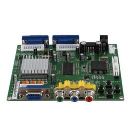 ABKT-GBS8220 Arcade Game CGA / YUV / EGA / RVB Convertisseur de signal vidéo HD VGA (double sortie) ? partir de fabricateur