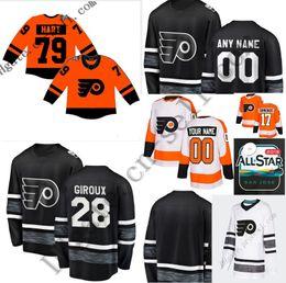 Carter Hart 2019 Stadium Series Philadelphia Flyers Claude Giroux Jakub  Voracek Sean Couturier Travis Konecny Wayne Simmonds Hockey Jerseys c723dcc93