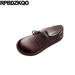 2020 sapatos de borracha para mulheres china Sapatas largas do ajuste do metal senhoras mulheres do vintage china cinza chinês primavera outono apartamentos lace up cinza retro sola de borracha dedo do pé redondo ocasional sapatos de borracha para mulheres china barato