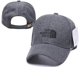 Marcas hiphop caps on-line-2019 Dad bem de luxo Moda O Norte chapéu de marca cara Bonés de golfe hiphop polose bonés para homens e mulheres