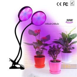 3-head 200 Lamba Bitki için LED Bitki Büyümek Ampul çift Çiçek Tohumları çadır Kapalı Klip hidro growbox Veg E27 kırmızı mavi sera supplier greenhouse light bulbs nereden sera ampulleri tedarikçiler