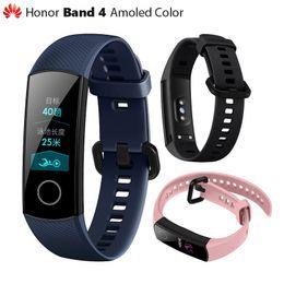 Original Huawei Honor Band 4 pulsera inteligente color Amoled 0.95