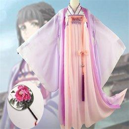 2019 kostüm ver Anime Lan Wangji Cosplay Großmeister der dämonischen Kultivierung Cosplay Lan Wangji Erwachsene Ver. Kostüm Mo Dao Zu Shi günstig kostüm ver